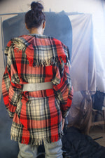1950's Tartan Wool Jacket-Coat - ULTRA-CAT