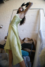 Silk Light Green Gown - ULTRA-CAT