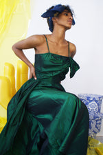 Gorgeous Green Taffeta Gown - ULTRA-CAT