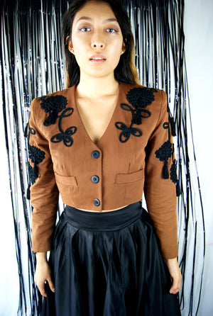 Vintage Cropped Jacket - ULTRA-CAT