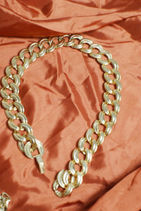 Thick Golden Chain Necklace