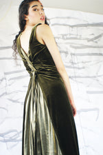 Vintage Velvet Dress - ULTRA-CAT