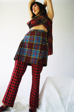 Authentic Vintage Tartan Kilt - ULTRA-CAT