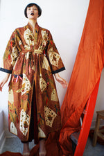 Batik Indonesian Vintage Kimono With Sequins - ULTRA-CAT