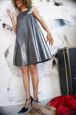 Unique Baby Doll Silver Dress - ULTRA-CAT