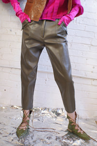 Y2K PU Leather Pants