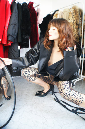 Vintage Moschino Leopard Pants - ULTRA-CAT