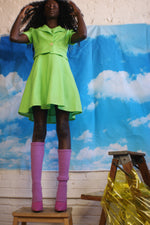 Lime Green 1960's Two-Piece Suit - ULTRA-CAT