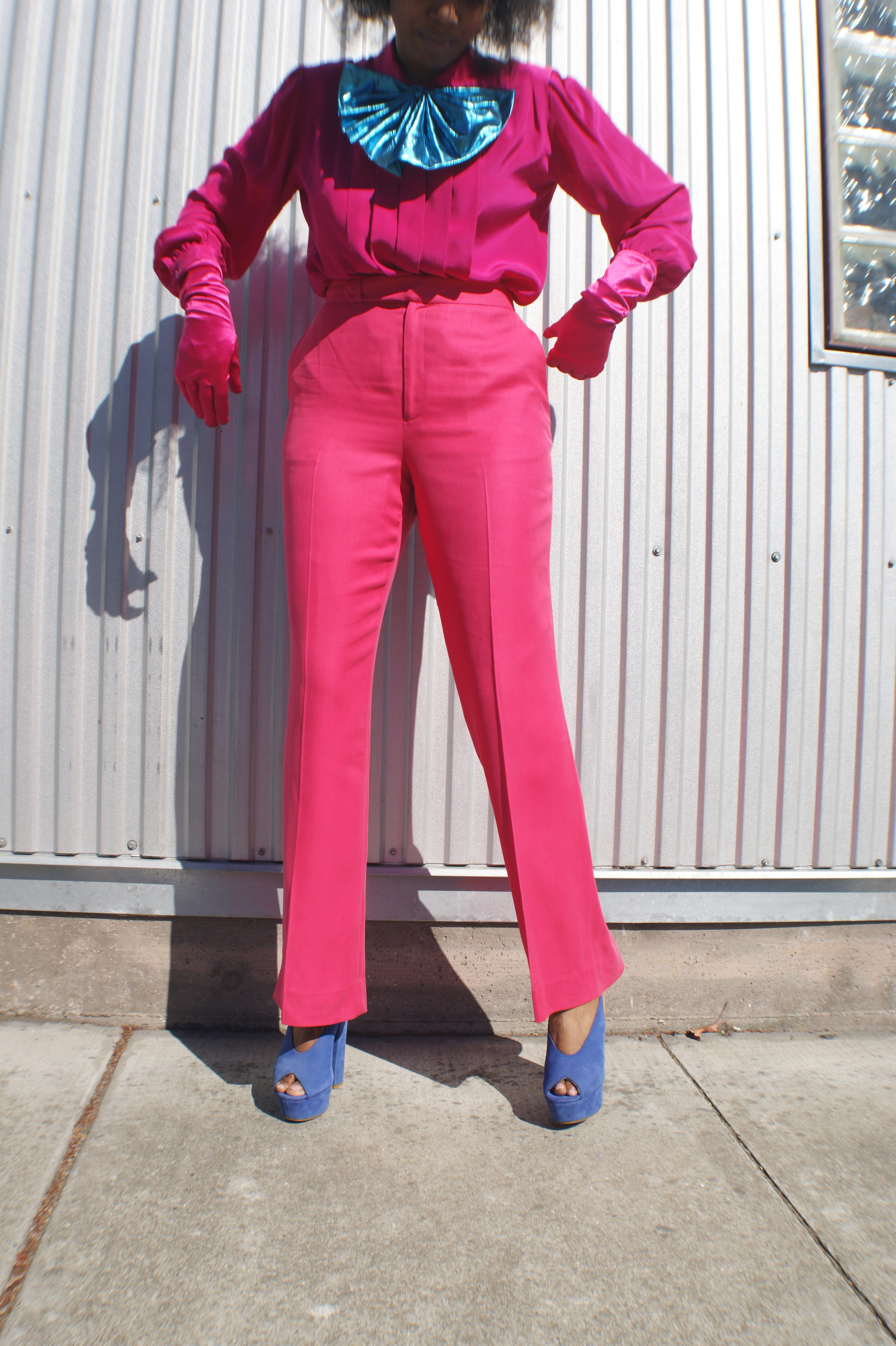 Luxurious Silk Vintage Ralph Lauren Pants