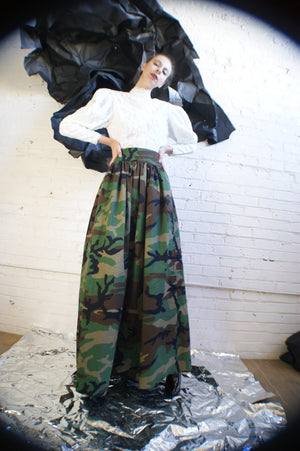 Unique Ball Gown Military Skirt - ULTRA-CAT