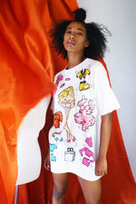 MOSCHINO Long Barbie T-shirt - ULTRA-CAT