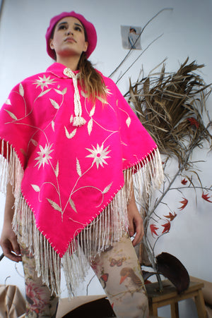 Neon Hand Made Vintage Cape - ULTRA-CAT