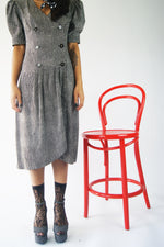 Vintage Polka Dot Silk Dress - ULTRA-CAT