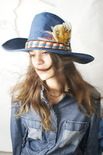 Unique Cowboy Denim Hat - ULTRA-CAT