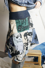 "Unique ""Pop Culture Idols"" Skirt - ULTRA-CAT"