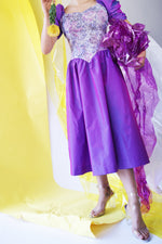 Vintage 1980's Does 1950's Princess Prom Dress - ULTRA-CAT