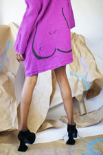"Purple Linen""Body"" Tunic - ULTRA-CAT"
