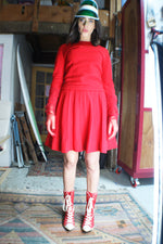 1960's Pleated Mod Dress - ULTRA-CAT