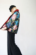 Reversible Reworked Vintage Faux Fur Jacket - ULTRA-CAT