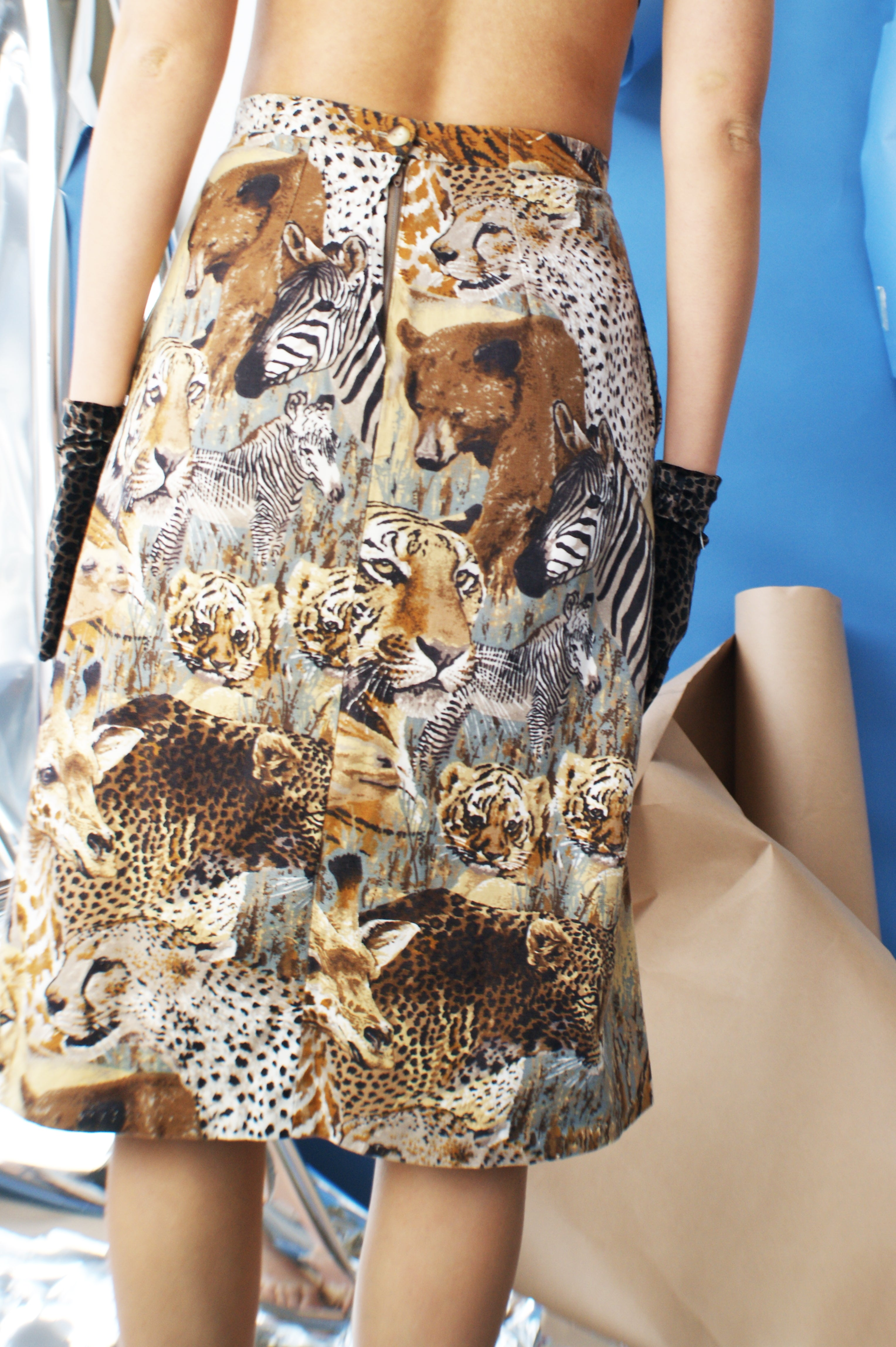 Copy of Vintage Safari Skirt - ULTRA-CAT
