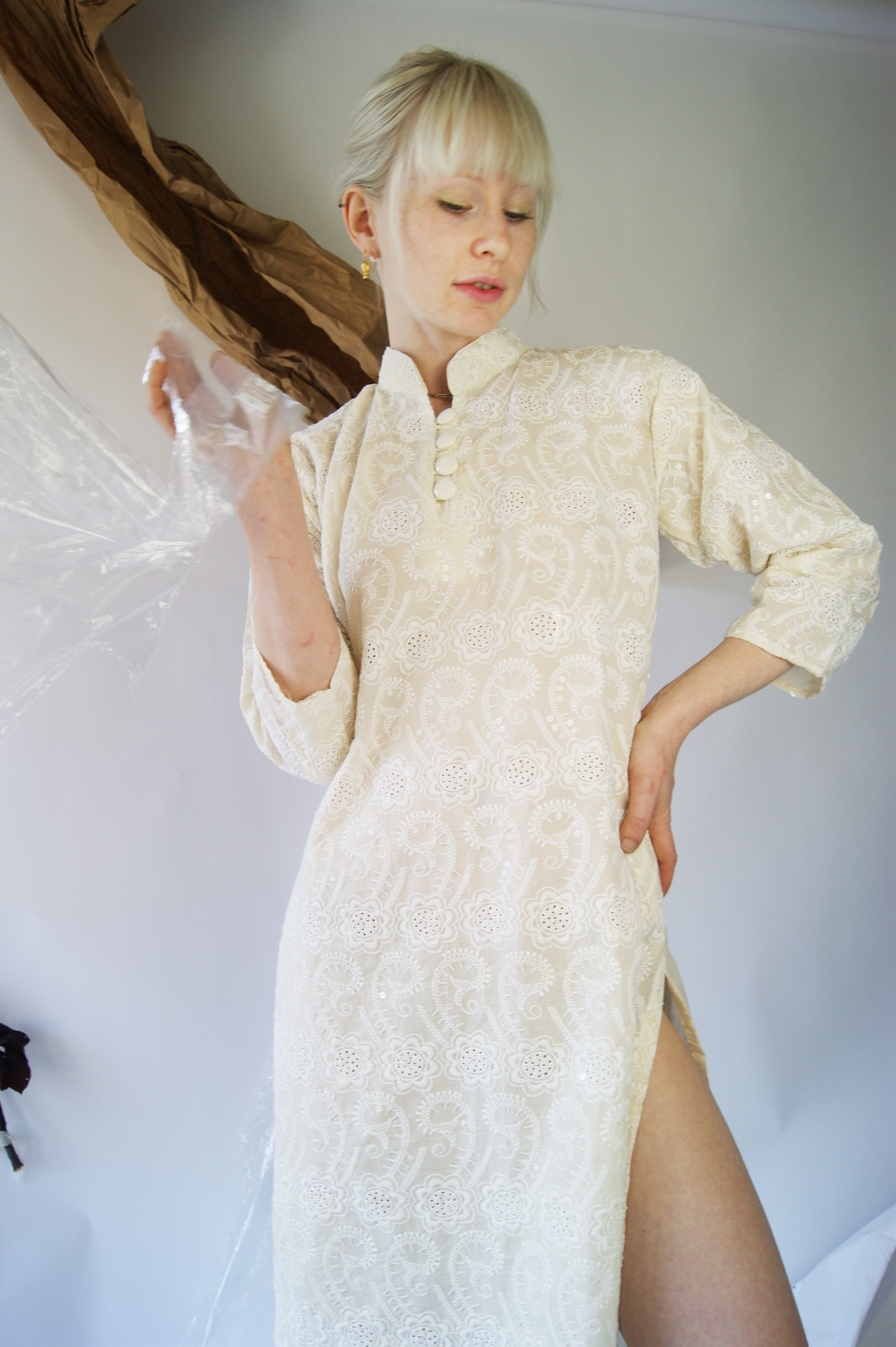 Unique Vintage Embroidered Dress - ULTRA-CAT