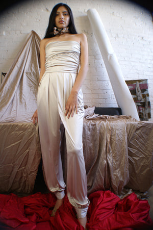 Unique Y2K Strapless Jumpsuit - ULTRA-CAT