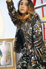 Silk Sequined Jacket - ULTRA-CAT
