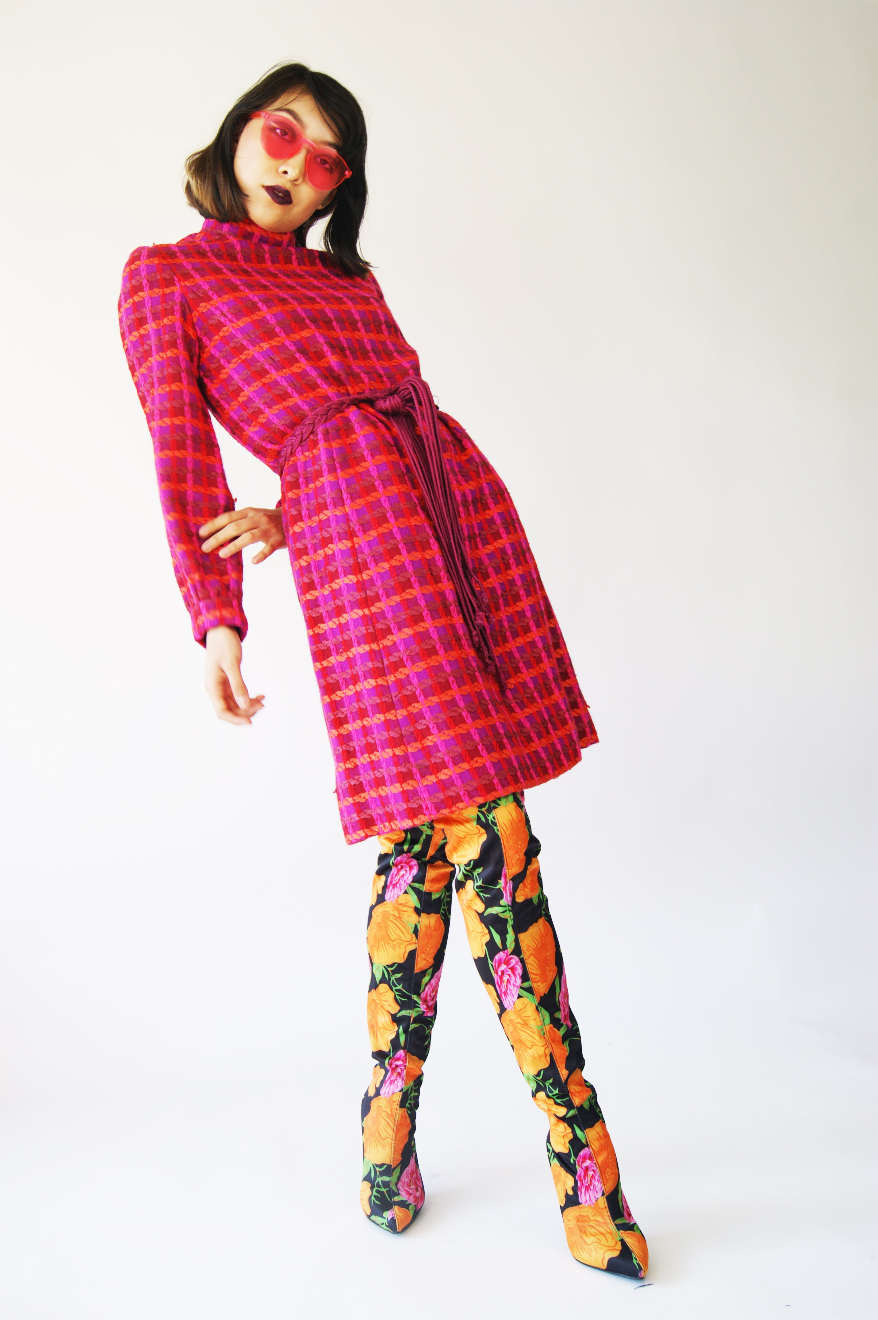 1960's Mod Shift Dress - ULTRA-CAT
