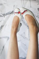 1980's Vintage White Pumps - ULTRA-CAT