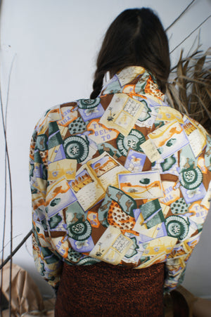 80's Silk Traveler Bomber - ULTRA-CAT