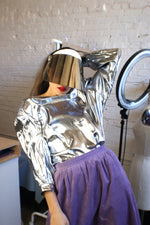 Metallic Spaceship Futuristic Top - ULTRA-CAT