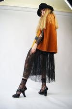 Vintage 1970's Suede Cape That Looks Similar To Vivienne Westwood Aesthetic - ULTRA-CAT