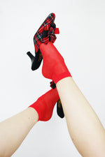 1980's Reworked Tartan Mules - ULTRA-CAT