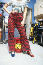 Tartan Plaid Pants - ULTRA-CAT