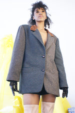 Two Jacket In One Redesigned Wool Blazer - ULTRA-CAT