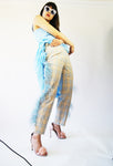 Vintage 1970's Unique Feather Pants - ULTRA-CAT
