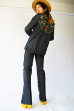 RARE 1970's Vintage Denim Suit - ULTRA-CAT
