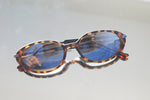 Vintage Slim Leopard Print Sunglasses - ULTRA-CAT
