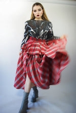 Tartan Vintage Skirt From 1970's - ULTRA-CAT