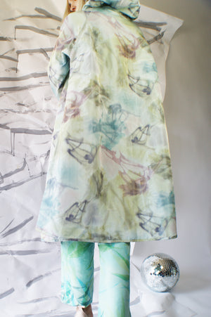 Watercolor Vintage Redesigned Coat - ULTRA-CAT