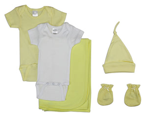 Newborn Baby 5 Piece Layette Set