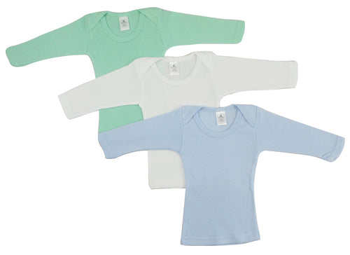 Boys Pastel Variety Long Sleeve Lap T-shirts