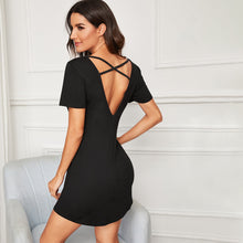 Crisscross Back Night Dress