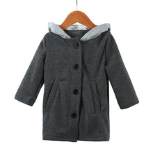 2017 Cute Baby Infant Autumn Winter Hooded Coat