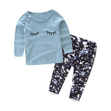 Load image into Gallery viewer, 2018 Baby 2PCS Autumn winter New baby girl clothes