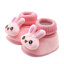 Load image into Gallery viewer, 2018 Baby Shoes Rabbit Applique Solid Color Baby
