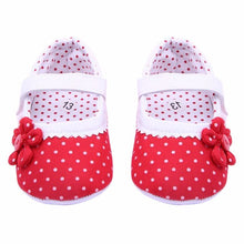 Load image into Gallery viewer, 2018 spring Toddler Girl Shoes Dot Hook Loop