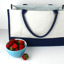 Load image into Gallery viewer, Deluxe Market Tote