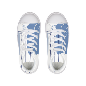 ARTISTIC Kids Hightop Canvas Shoe