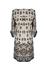 Load image into Gallery viewer, Mandala and Paisley Print Petite Tunic Dresses